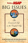 Big Issues: The Examined Life in a Digital Age (0471414913) cover image