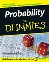 Probability For Dummies (0471751413) cover image