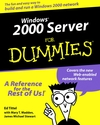 Windows 2000 Server For Dummies (0764503413) cover image