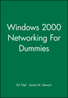 Windows 2000 Networking For Dummies (0764508113) cover image