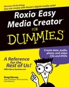 Roxio Easy Media Creator For Dummies (0764576313) cover image