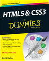HTML5 and CSS3 For Dummies (1118639413) cover image