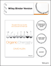 Student Study Guide and Solutions Manual to accompany Organic Chemistry, Binder Ready Version, 2nd Edition (1118700813) cover image