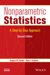 thumbnail image: Nonparametric Statistics: A Step-by-Step Approach, 2nd...