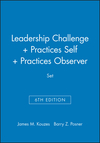 Leadership Challenge 6e + Practices 5e Self + Practices 5e Observer Set (1119539013) cover image