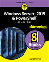 Windows Server 2019 & PowerShell All-in-One For Dummies (1119560713) cover image