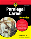 Paralegal Career For Dummies, 2nd Edition (1119564913) cover image