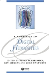 A Companion to Digital Humanities (1405103213) cover image