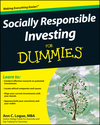 Socially Responsible Investing For Dummies (0470394714) cover image
