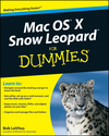Mac OS X Snow Leopard For Dummies (0470535814) cover image