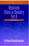 Relativistic Effects in Chemistry, Part B, Applications (0471179914) cover image