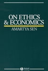 On Ethics and Economics (0631164014) cover image