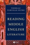 Reading Middle English Literature (0631231714) cover image