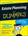 Estate Planning For Dummies (0764555014) cover image