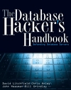 The Database Hacker's Handbook: Defending Database Servers (0764578014) cover image