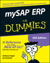 mySAP ERP For Dummies (1118054814) cover image