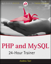 PHP and MySQL 24-Hour Trainer (1118172914) cover image