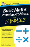 Basic Maths Practice Problems For Dummies, UK Edition (1118351614) cover image