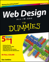 Web Design All-in-One For Dummies, 2nd Edition (1118404114) cover image