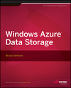 Windows Azure Data Storage (1118708814) cover image