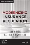 Modernizing Insurance Regulation (1118758714) cover image