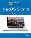 Teach Yourself VISUALLY macOS Sierra (1119300614) cover image