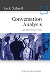 Conversation Analysis: An Introduction (1405159014) cover image