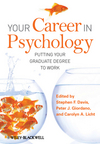 Your Career in Psychology: Putting Your Graduate Degree to Work (1405179414) cover image