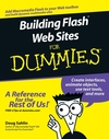 Building Flash Web Sites For Dummies (0470048115) cover image
