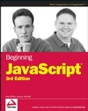 Beginning JavaScript, 3rd Edition (0470051515) cover image