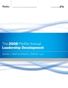 The 2008 Pfeiffer Annual: Leadership Development, CD-ROM Included (0787995215) cover image