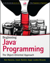 Beginning Java Programming: The Object-Oriented Approach (1118739515) cover image
