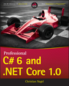 Professional C# 6 and .NET Core 1.0 (1119096715) cover image