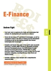 E-Finance: Finance 05.03 (1841123315) cover image