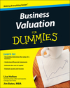 Business Valuation For Dummies (0470344016) cover image