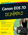 Canon EOS 7D For Dummies (0470616016) cover image