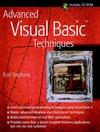 Advanced Visual Basic Techniques  (0471188816) cover image