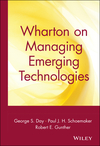 Wharton on Managing Emerging Technologies (0471361216) cover image