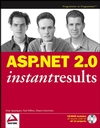 ASP.NET 2.0 Instant Results (0471749516) cover image
