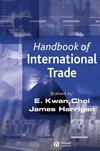 Handbook of International Trade, Volume 1 (0631211616) cover image