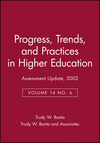 Assessment Update, Progress, Trends, and Practices in Higher Education, Volume 14, No. 6, 2002 (0787963216) cover image