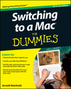 Switching to a Mac For Dummies, Mac OS X Lion Edition (1118173716) cover image