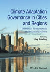 Climate Adaptation Governance in Cities and Regions: Theoretical Fundamentals and Practical Evidence (1118451716) cover image
