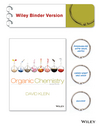 Organic Chemistry, 2nd Edition Binder Ready Version (1118454316) cover image