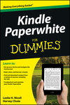 Kindle Paperwhite For Dummies (1118565916) cover image