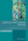 Lexical-Functional Syntax, 2nd Edition (1405187816) cover image