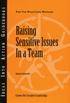 Raising Sensitive Issues in a Team (1604910216) cover image