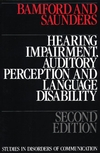 Hearing Impairment, Auditory Perception and Language Disability, 2nd Edition (1870332016) cover image