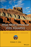 FPGA Prototyping by VHDL Examples: Xilinx Spartan-3 Version (0470185317) cover image