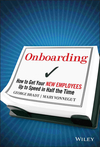 Onboarding: How to Get Your New Employees Up to Speed in Half the Time (0470485817) cover image